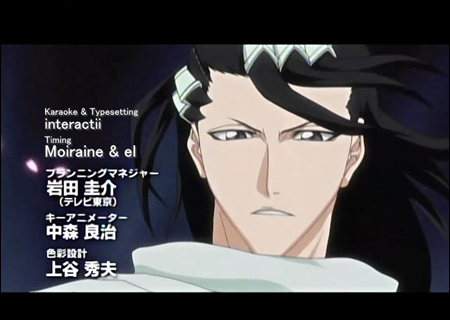 Byakuya Kuchiki from Bleach is about 224 years old :3