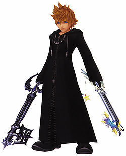 roxas !!!!!!!!!!!! first time i saw him in kingdom hearts i was like wow but now times have changed and he has been pushed down the line sa pamamagitan ng kiba from wolfs rain and same happend to kiba sa pamamagitan ng captain toshiro hitsugaya from bleach