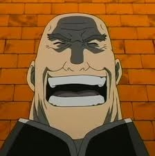 火影忍者 is too easy! Plus, he's already been posted. So I'll go with... Father Cornello from Fullmetal Alchemist!