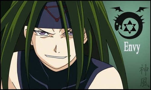Envy is smexy He is my handsome palm albero Keep hands off, fangirls This is a haiku I wrote about Envy from FMA~!
