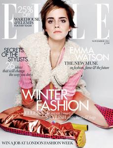 Emma in Elle Magazine :)