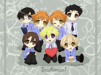 i speak for me and my cousin when i say, OURAN HIGH SCHOOL HOST CLUB!