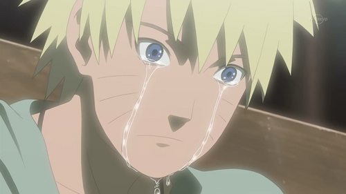 naruto Uzumaki from Naruto... I cried during this episode too.