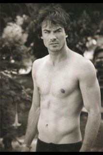 I can bet that Ian works out at a gym !! To get that body !!! Yummy !!!