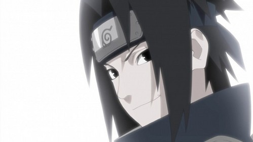 """Sexy! This was the episode that naruto was telling him that no matter what, Sasuke would always be his best friend blah blah blah but personally I think naruto was """"confessing""""! And then they had a flashback and this was one of the pictures! Anyway..."""