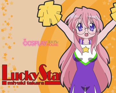 Miyuki-san. Kona-chan says it all the time! XD