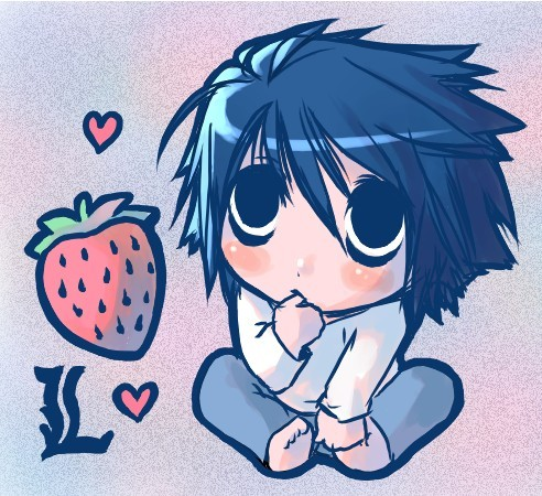 Probably a strawberry? :3 ..........