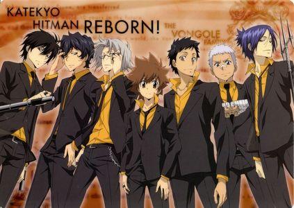 Katekyo Hitman Reborn. Sadly it did end, I want zaidi episodes of it so badly T~T