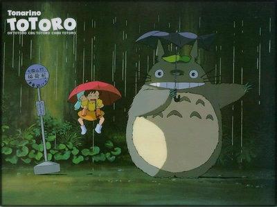 "Yup. Totoro & His New Umbrella [scene] -right up there with ""Cat Bus""- My Neighbor Tortoro 8D"