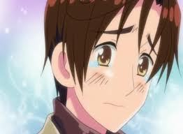 Romano(South Italy) from Hetalia. He's can be so mean and he swears a lot, but I still like him. It's impossible for me not to like him when he does stuff like this: