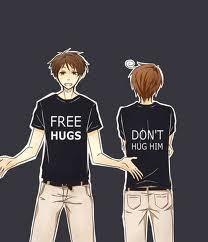 Spamano! Romano just doesn't want you to hug Spain because he's jealous...