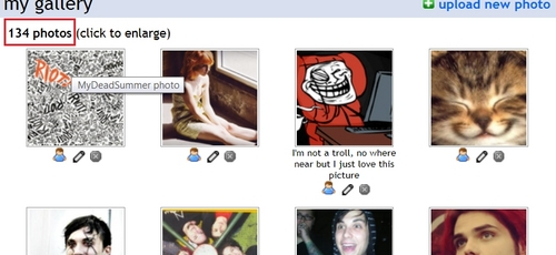 134 Half of the picture are MCR 或者 Gerard Way pics. As soon as I find something I love, I have to 上传 it...