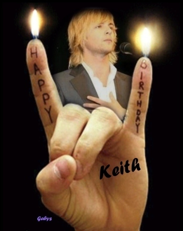 awww Happy early Birthday at least u still have Keith. :3 <3