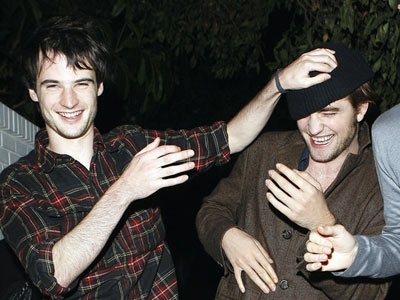 I don't know if this one's okay?? -It's Rob and Tom Sturridge ;P...