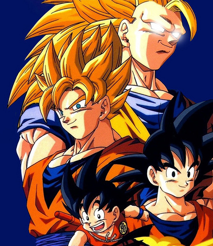 goku no matter what enemy he faces he still gives them mercy plus he's an awesome father, friend and grandfather.