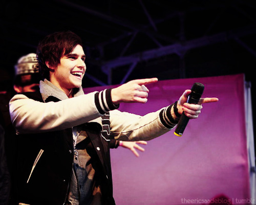 Eric Saade. I seriously seriously [i]love[/i] this guy. To the point where it kinda freaks people I know out. *shrugs* 83