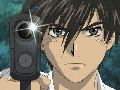 Sousuke from Full Metal Panic! He's pretty awesome...