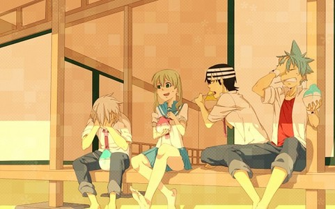 the whol soul eater cast :)