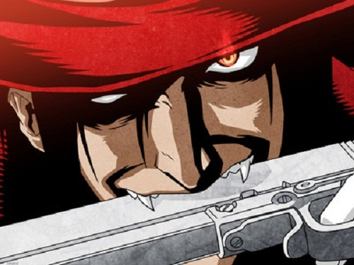 this is from 日本动漫 hellsing