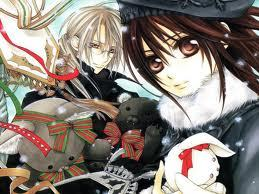Yuuki and Kaien kreuz from Vampire Knight