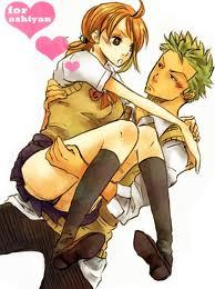 I didn't find a person but I found a couple.My fav couple,plus Sanji X Nami.....And pls,don't tell me 你 can't identify which is a boy and a girl the pic 或者 you're retarted. Green-Roronoa Zoro Orange-Nami Both from One Piece.Sorry for the ones who hate Zoro with Nami.I just like Zoro and Sanji with Nami equally. Boy,I hope u notice that their in school uniform.Man that is the uniform I hate to wear to school.Yes,I from Japan...I prefer wearing the one with black 夹克 and red tie....XD!!And the other one in ALL Black