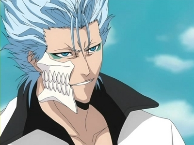 Grimmjow from Bleach :3