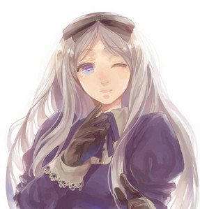 Belarus from Hetalia its such a cute picture of her