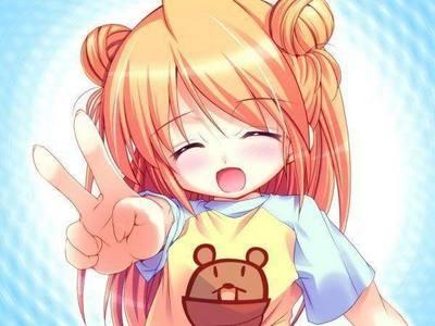 Some cute 아니메 girl :D