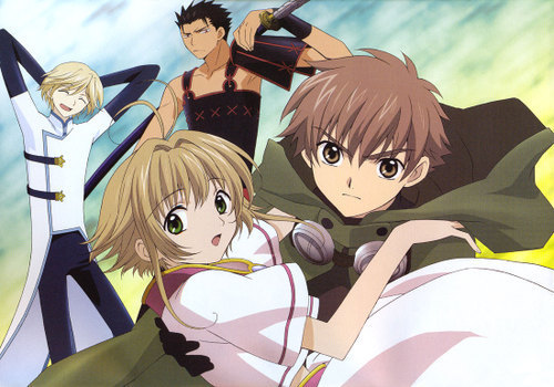 My ultimate Избранное is Tsubasa; Reservoir Chronicles (see picture) which is followed by Fullmetal Alchemist.