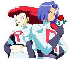 Jesse and James from Pokemon <3