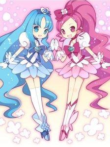 Erika Kurumi and Tsubomi Hanasaki from HeartCatch PreCure!