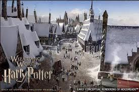 Harry Potter World at Orlando, Florida! :D