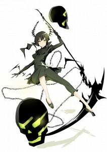 Dead Master from BRS and her scythe.