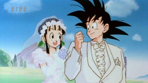 Chichi&Goku from DragonBall