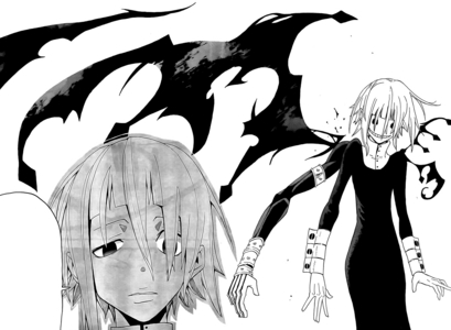 Crona can use his blood as a weapon.