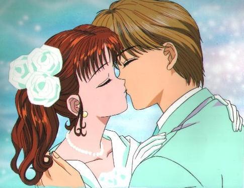 Yuu and Miki in the 日本动漫 果酱 Boy :)