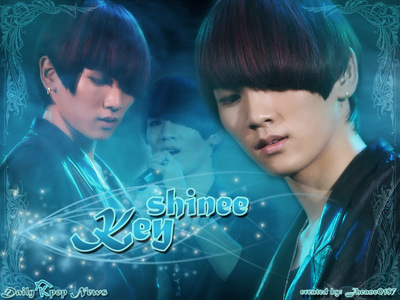 Kim Kibum (Key from SHINee)!! And I dont know what would happen.....!! I like Key a lot!! I want to meet him someday...!!