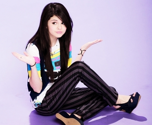 Selena. We would play a friendly game.
