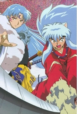 Sesshomaru and Inuyasha.