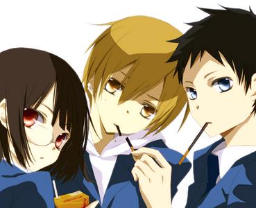 Mikado, Masaomi and Anri
