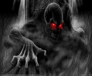 I am the nightmare which lurks in your dreams