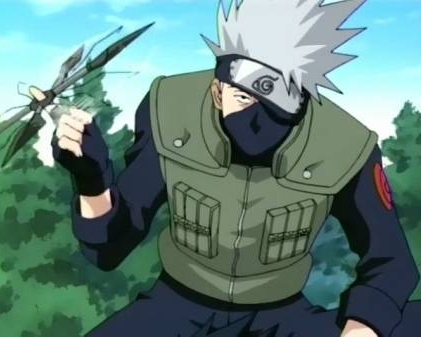 Kakashi-sensei from Naruto! He's very smart when it comes to battling! that's why he's sensei (meaning teacher in Japanese)!x3