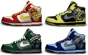 I'm a Harry Potter fan. A very HUGE Harry Potter fan. I also REALLY want these shoes.