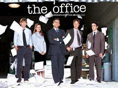 I have The Office seasons on DVD and I cannot get enough of them! I swear I watch like a season a day!