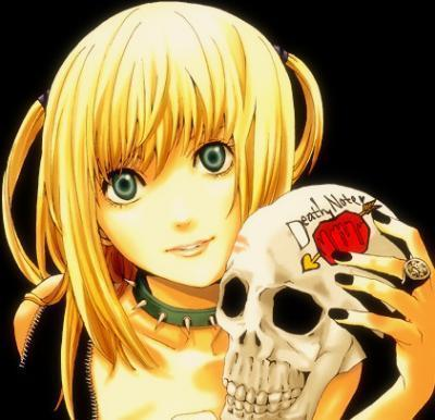 we all knew Misa Misa was coming up one shes irritating with the Light obsesstion two shes super dramitic and i hate that and last three,shes just too bubbly in a way i don't like sorry I hate Light too beacuse hes insane and a douche