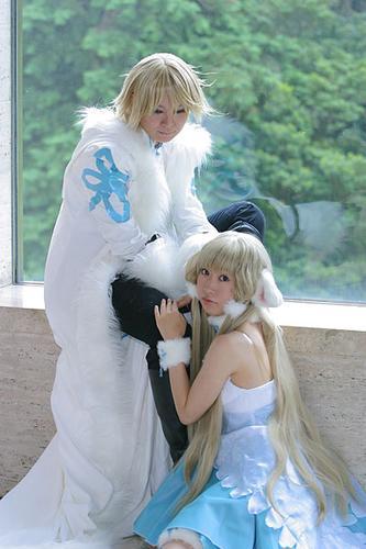 Here's Fai and Chi from Tsubasa