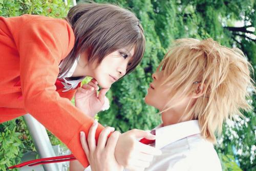 Misaki and Usui cosplay. ^-^