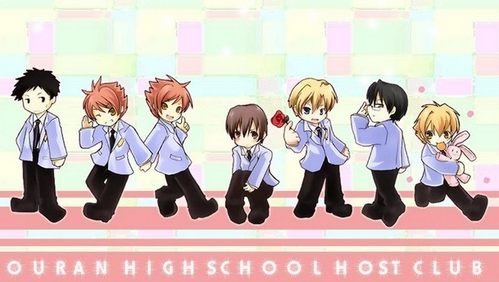 《K.O.小拳王》 老友记 okay then! How about this picture of The Ouran Highschool Host Club characters as Chibi(s) and they are 老友记 too!:3