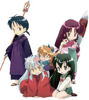 Inuyasha's group!!! :D