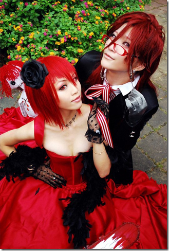 Grell and Madam Red♥